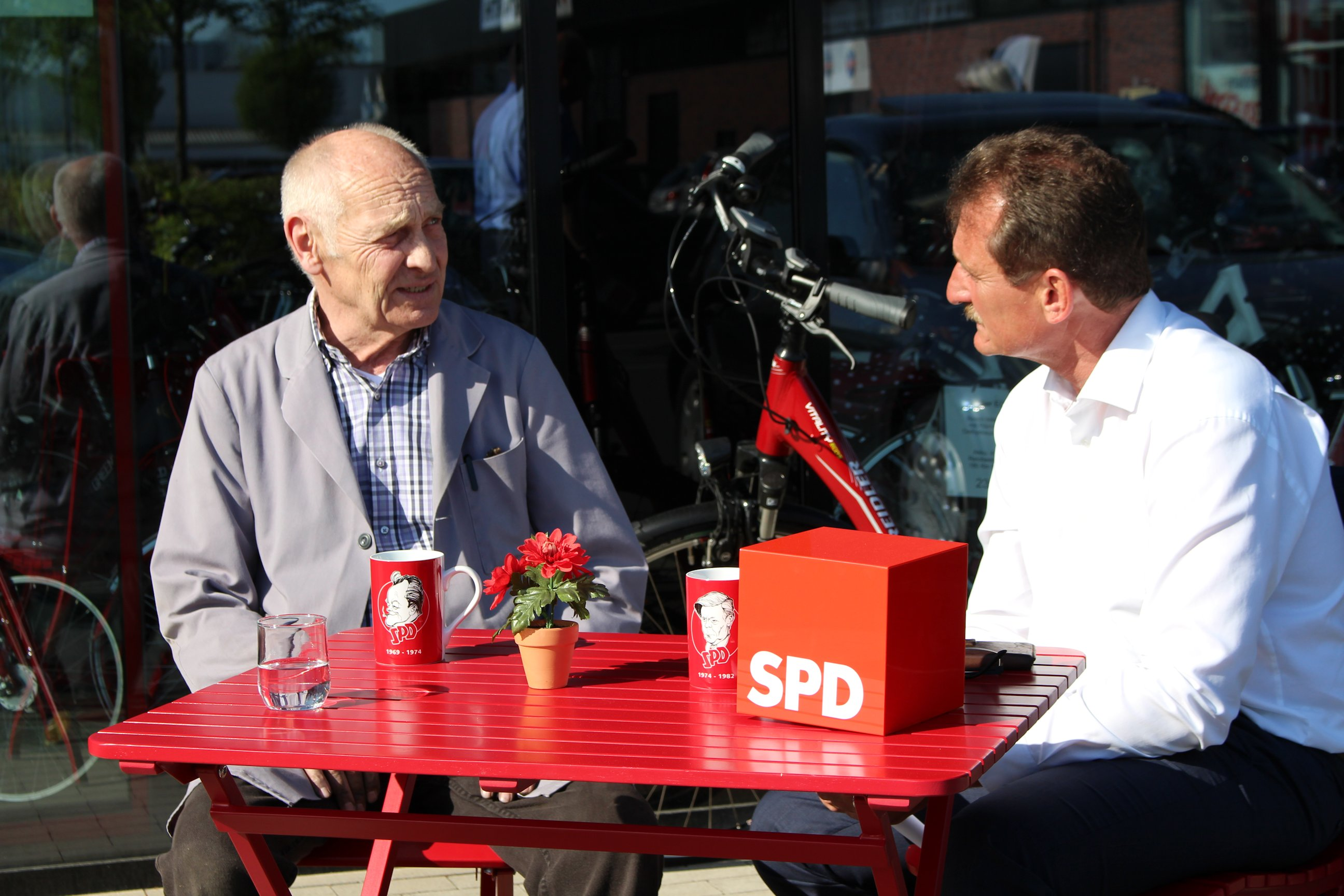 """Ulli hört zu..."" in Coesfeld"
