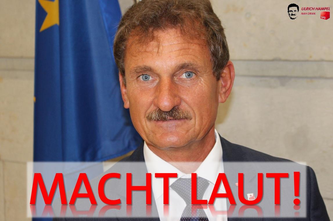 Uli Hampel: Macht LAUT!