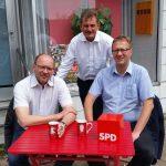 """""""Ulli hört zu..."""" mit Rainer Schmeltzer (NRW-Minister für Arbeit, Integration und Soziales) und Marcus Vierung (Vorsitzender der SPD Olfen)"""