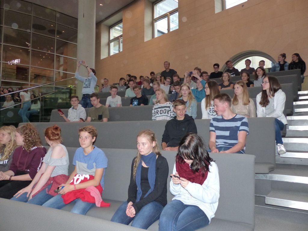 Ulrich_Hampel_Gymnasium_Nottuln_Bundestag_170914